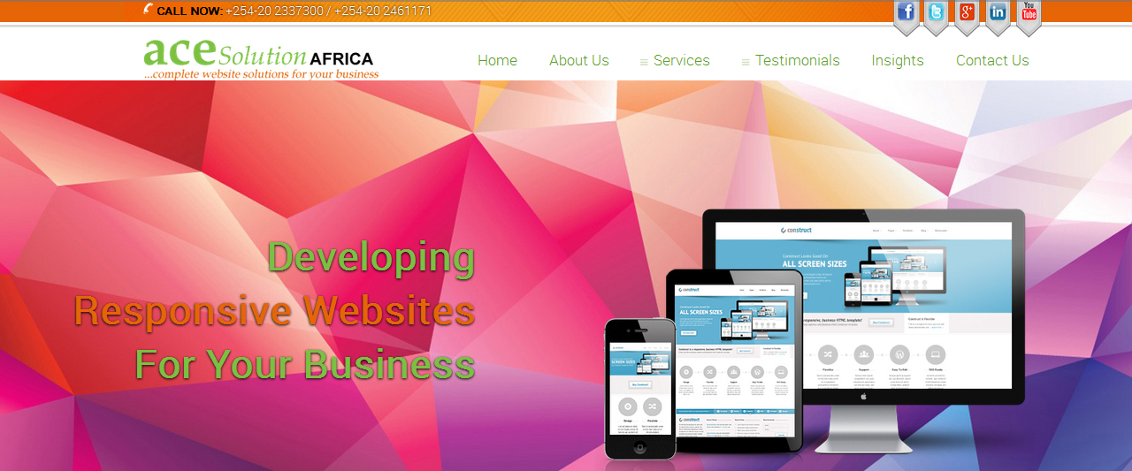 Discover the leading website design company in kenya