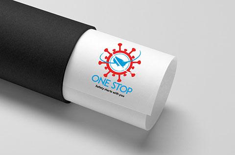 Onestop logo design Thumbnail display